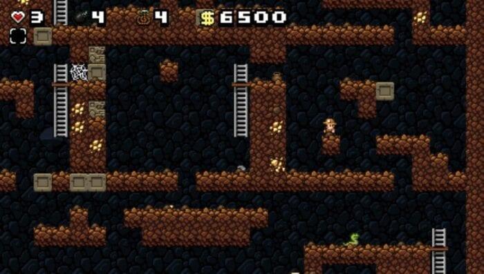 Screenshot from Spelunky
