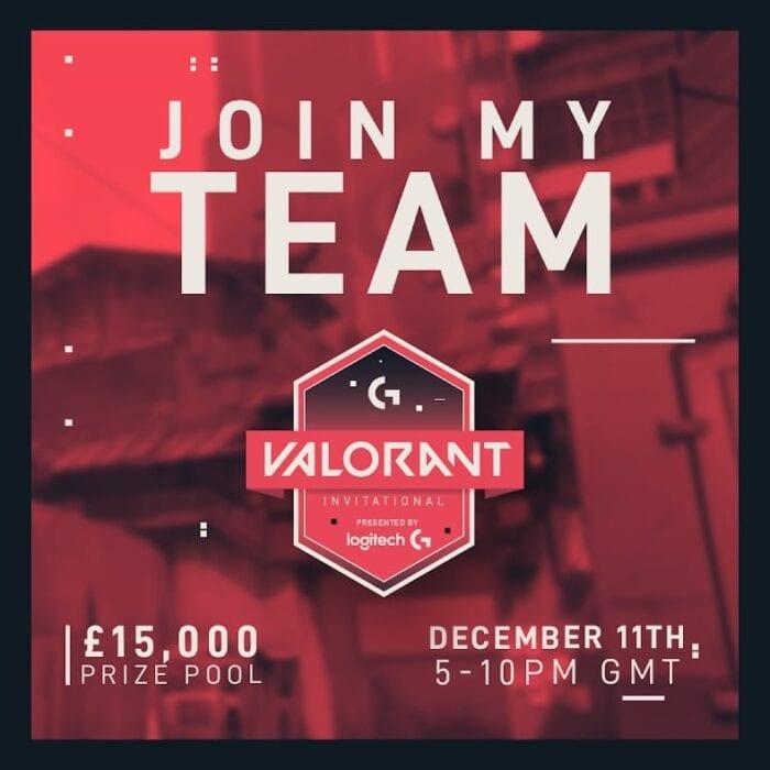 banner for valorant tournament