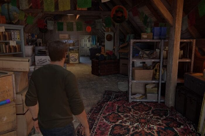Uncharted 4 attic
