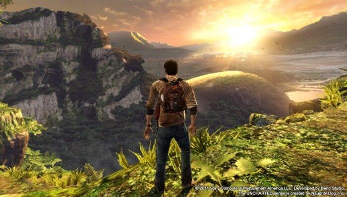 Uncharted golden abyss screenshot