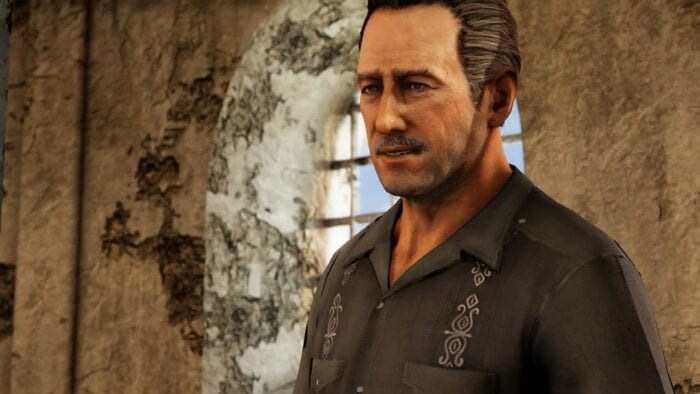 Sully in Uncharted 2