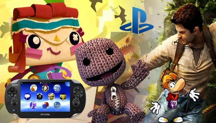 Various characters from vita games