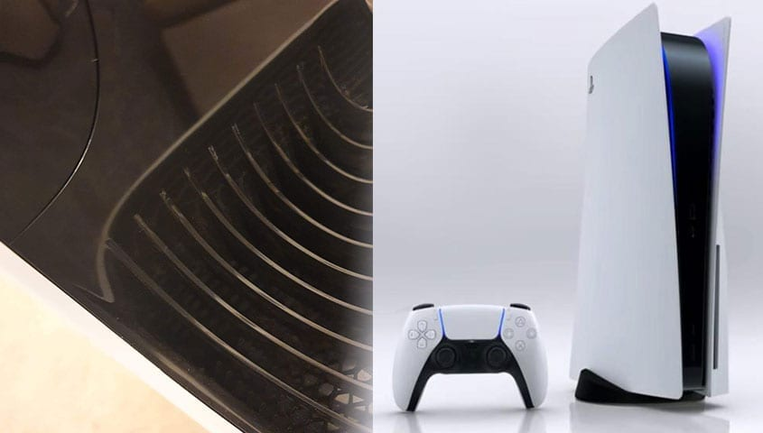 air purifier next to ps5