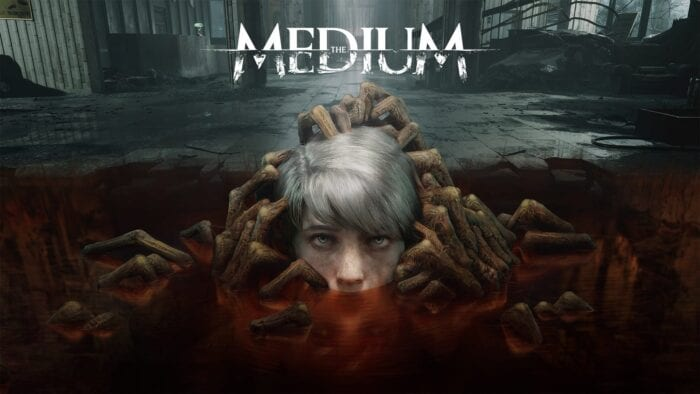 the medium key art