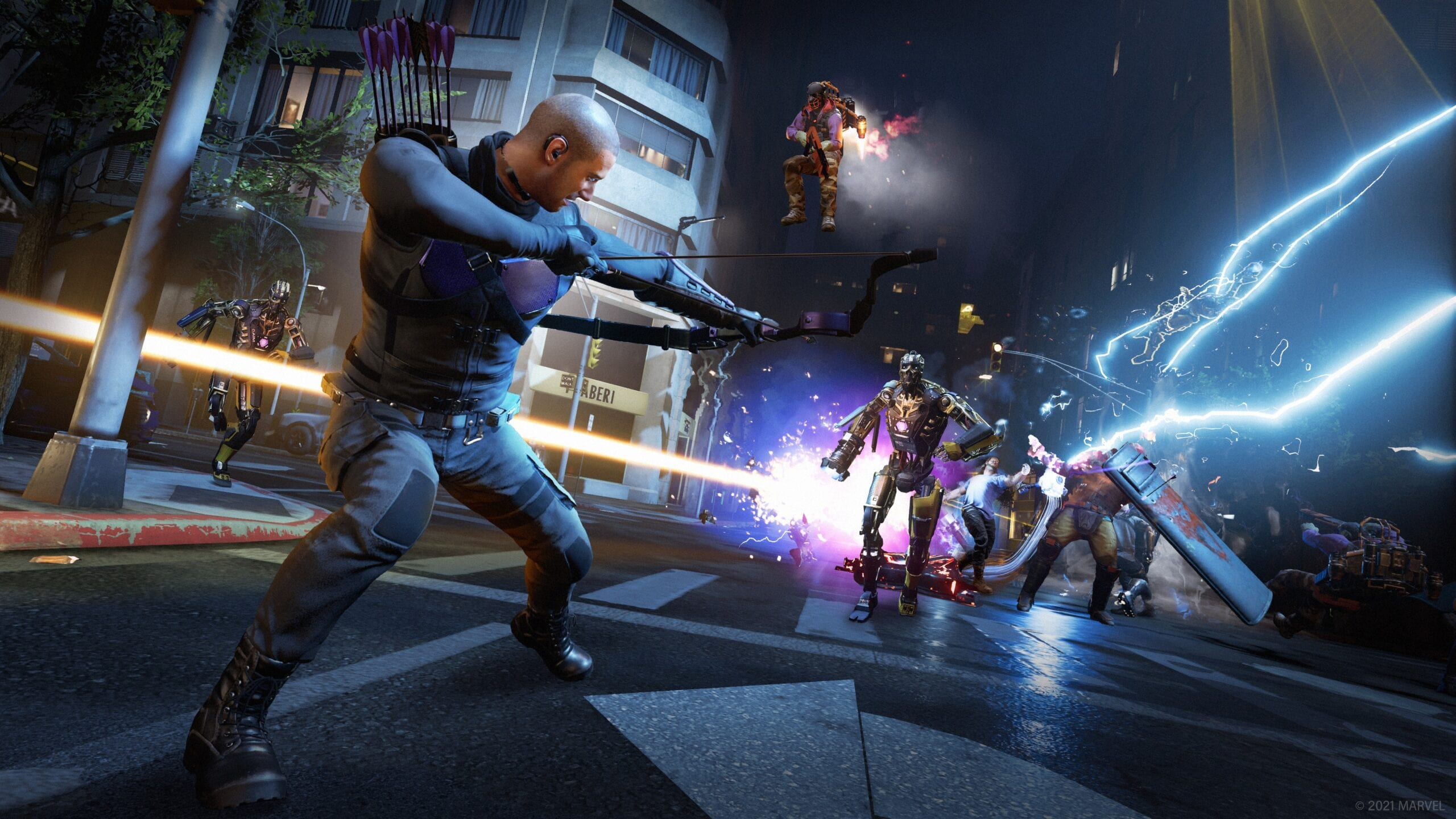 Hawkeye Update Brings Five Times More Players To Marvel's Avengers