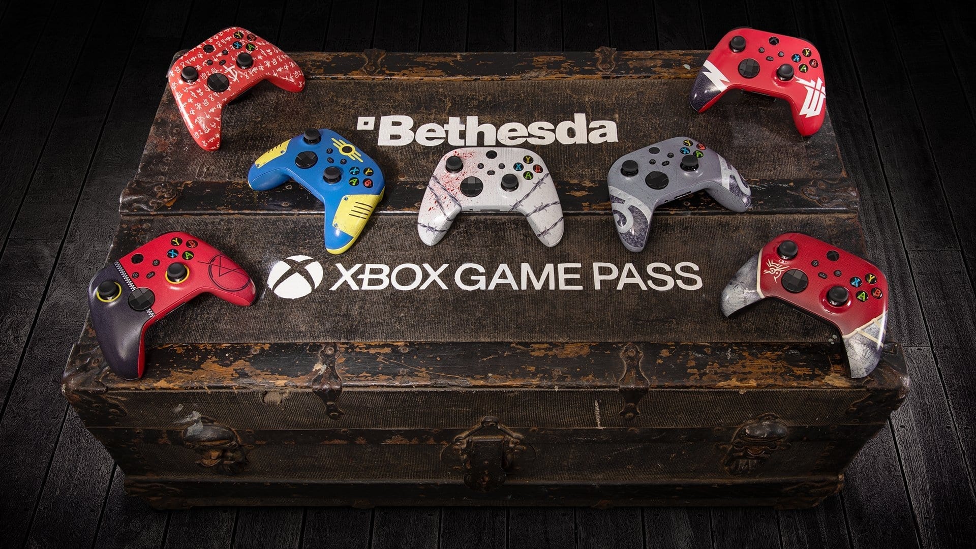 Xbox Is Giving Away Incredible Bethesda-Themed Controllers