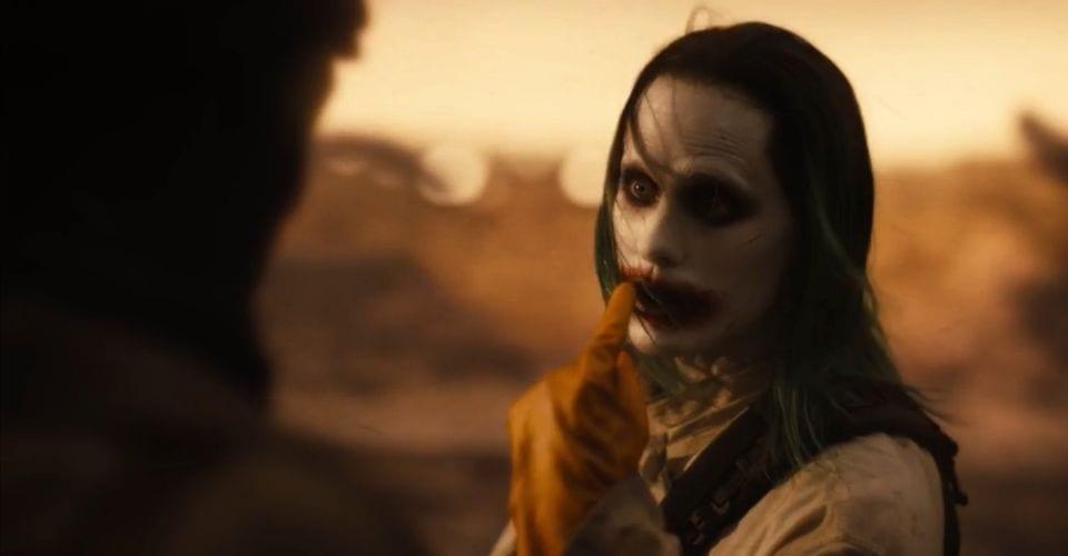 Jared Leto Ad-Libbed Infamous Joker Line In Snyder Cut Trailer