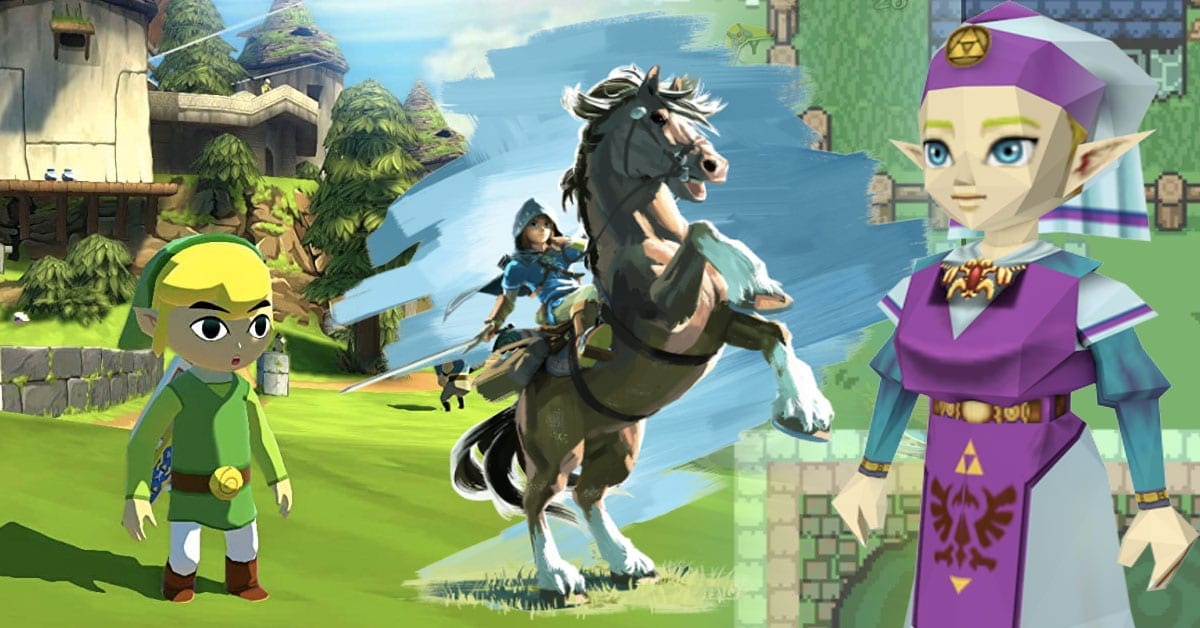 Here Are The Best Legend Of Zelda Games Of All Time