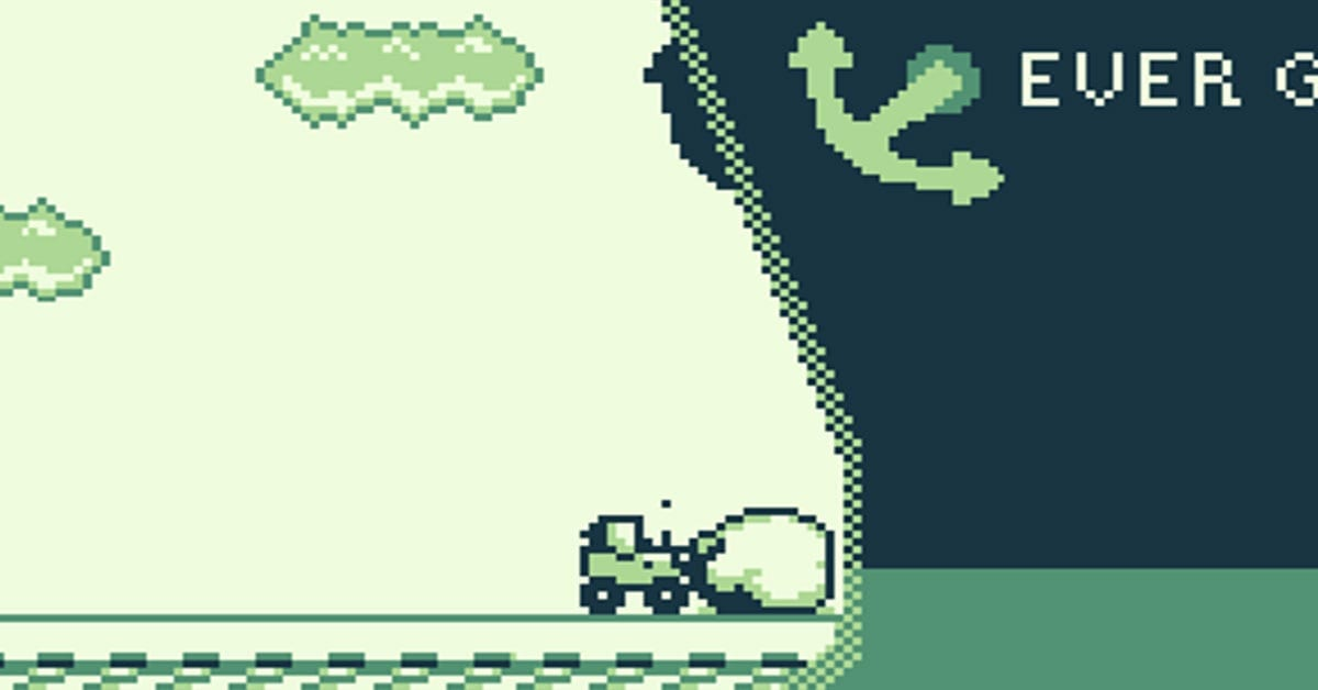 The Suez Canal Ship Story Is Now A Game Boy-Style Game