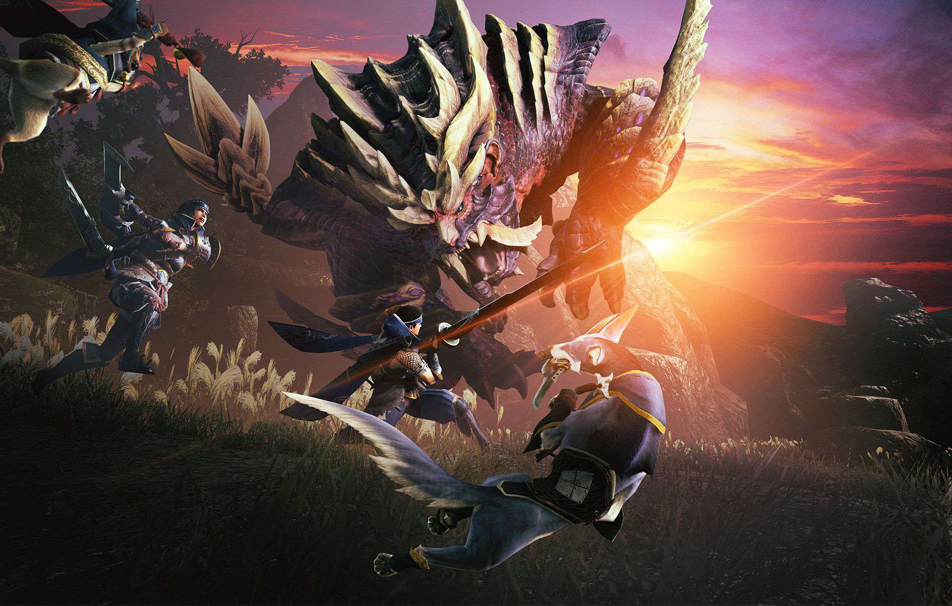 Company Gives Employees A Day Off To Play Monster Hunter Rise