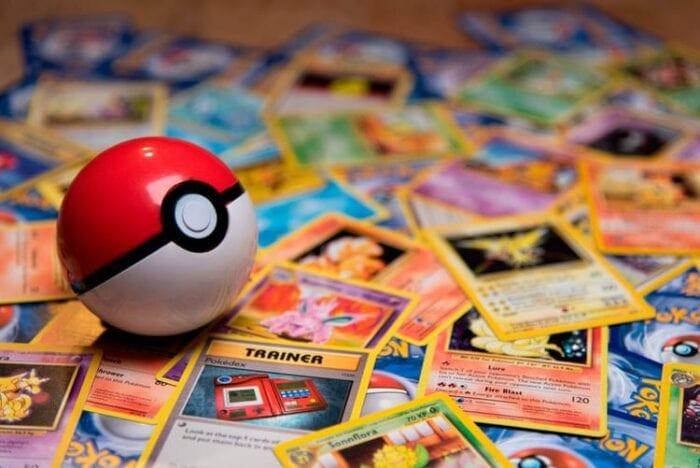 stock photo pokemon cards