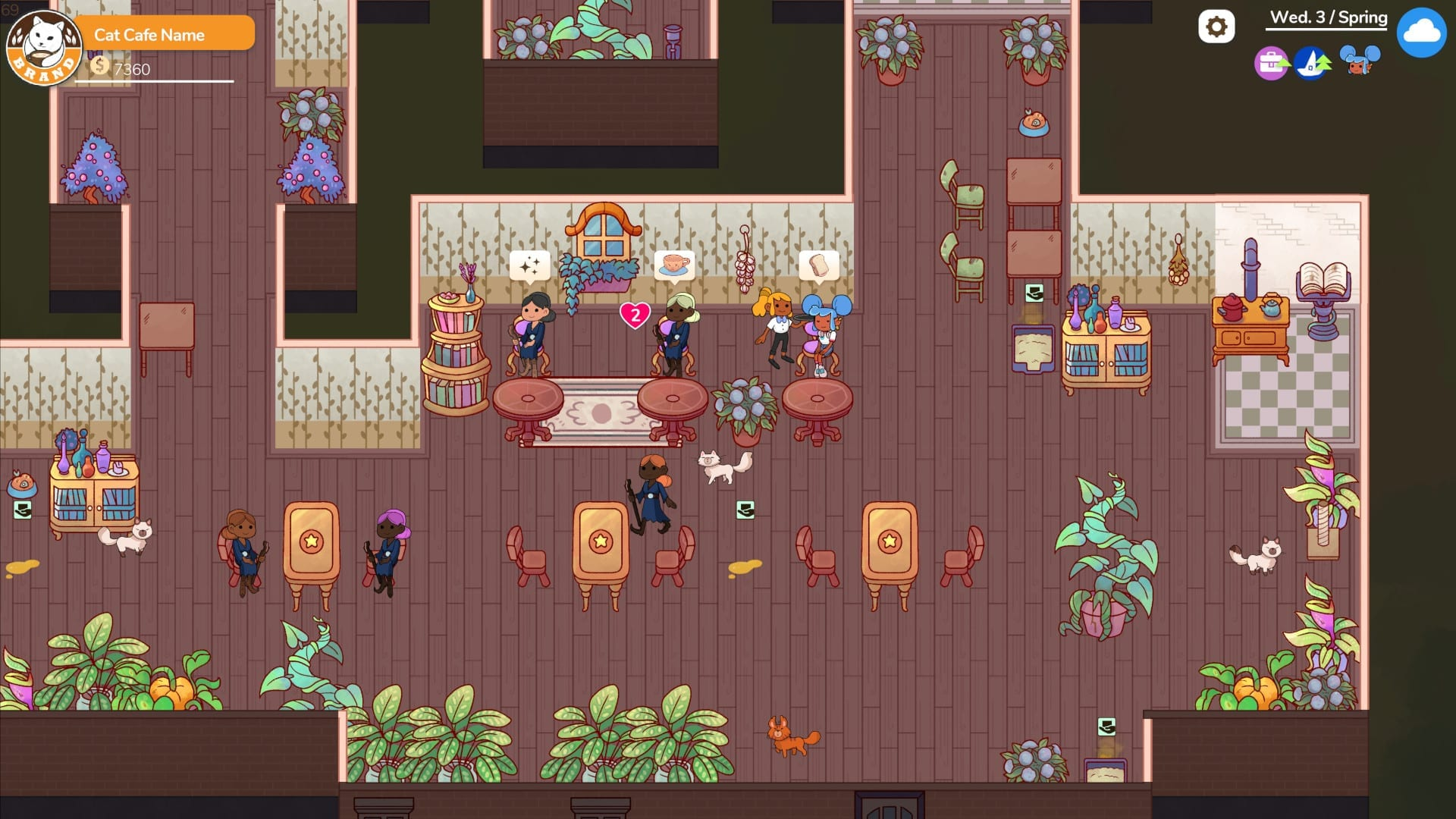 Cat Cafe Manager Is A Cathartic Management Sim With A Twist