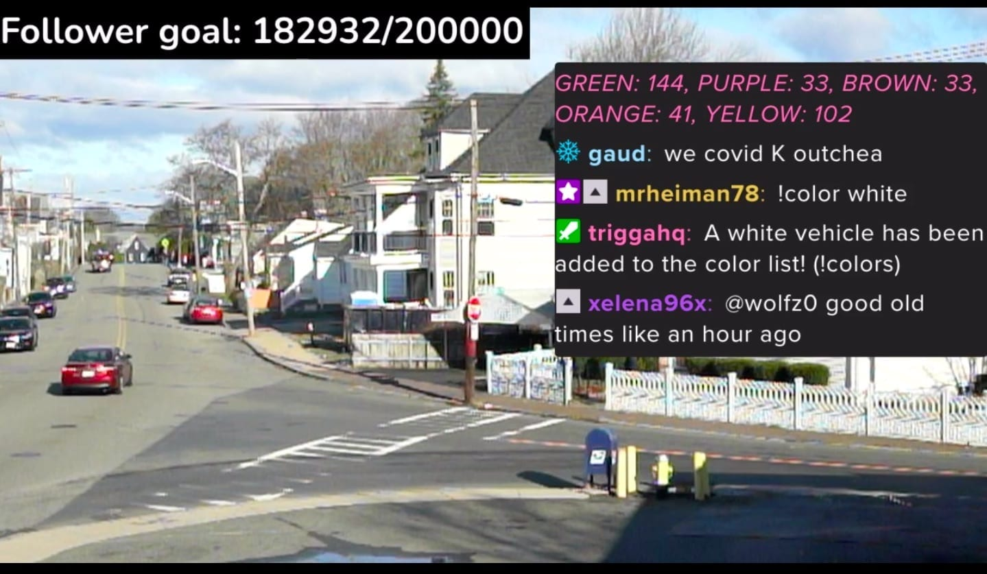 24/7 Twitch Stop Sign Halts Broadcasting After Pizzas Sent To Neighbours