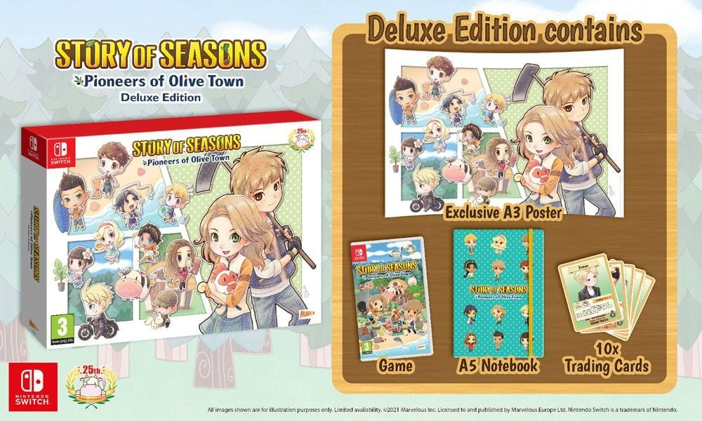 WIN Story of Seasons: Pioneers of Olive Town Deluxe Edition and More