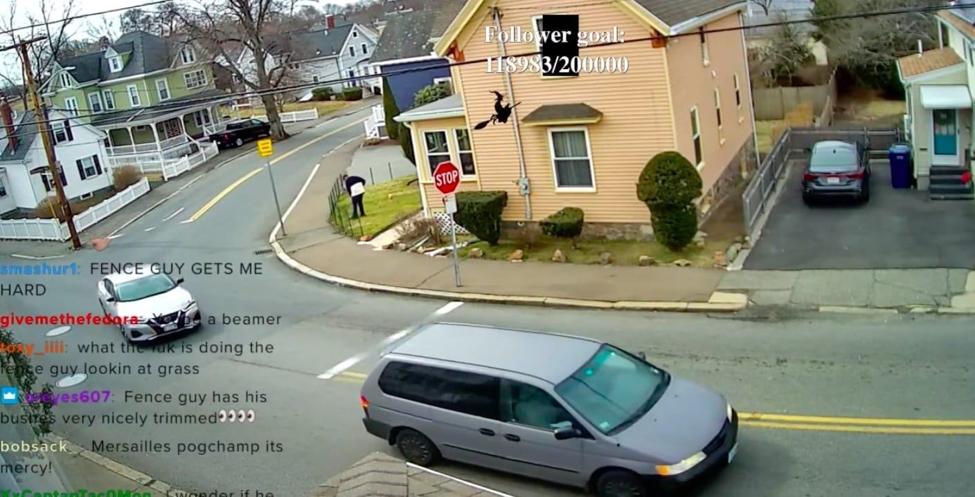 Channel Showing Stop Sign Where No-One Stops Is A Huge Hit On Twitch