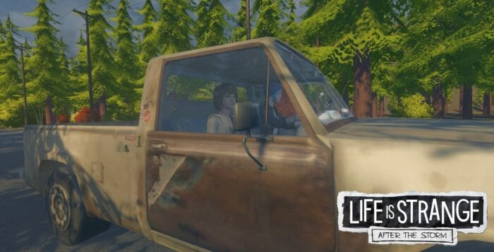 A screenshot of fan made Life is Strange sequel, After the Storm