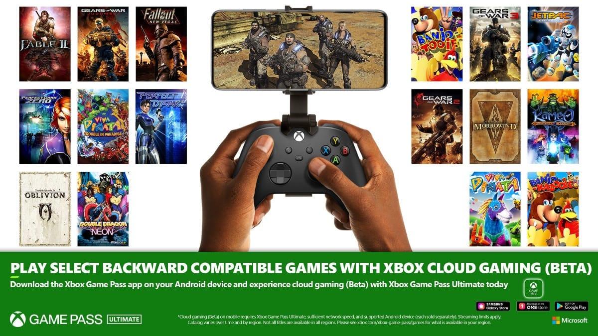 Xbox Cloud Gaming Adds 16 Classic Retro Titles