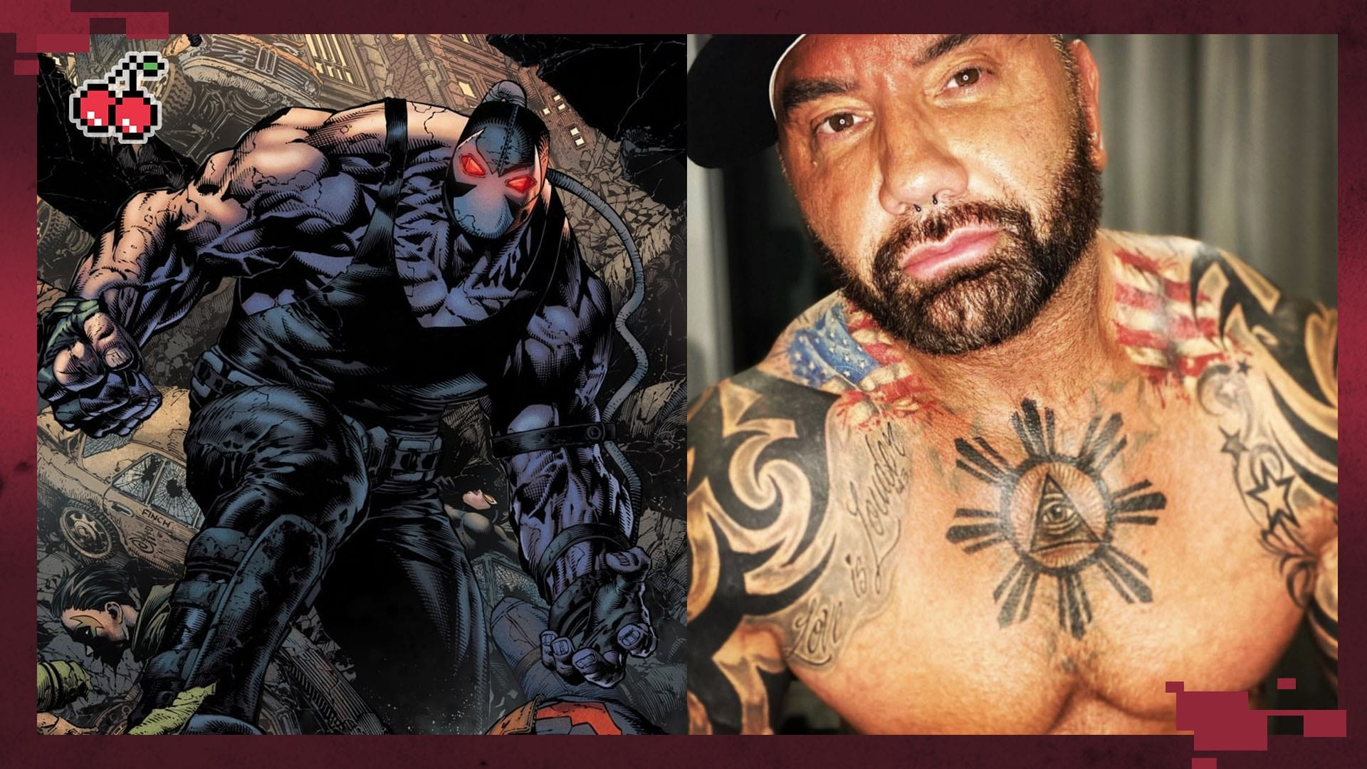 Bautista Says He Wanted The Role Of Bane During DC Films Visit