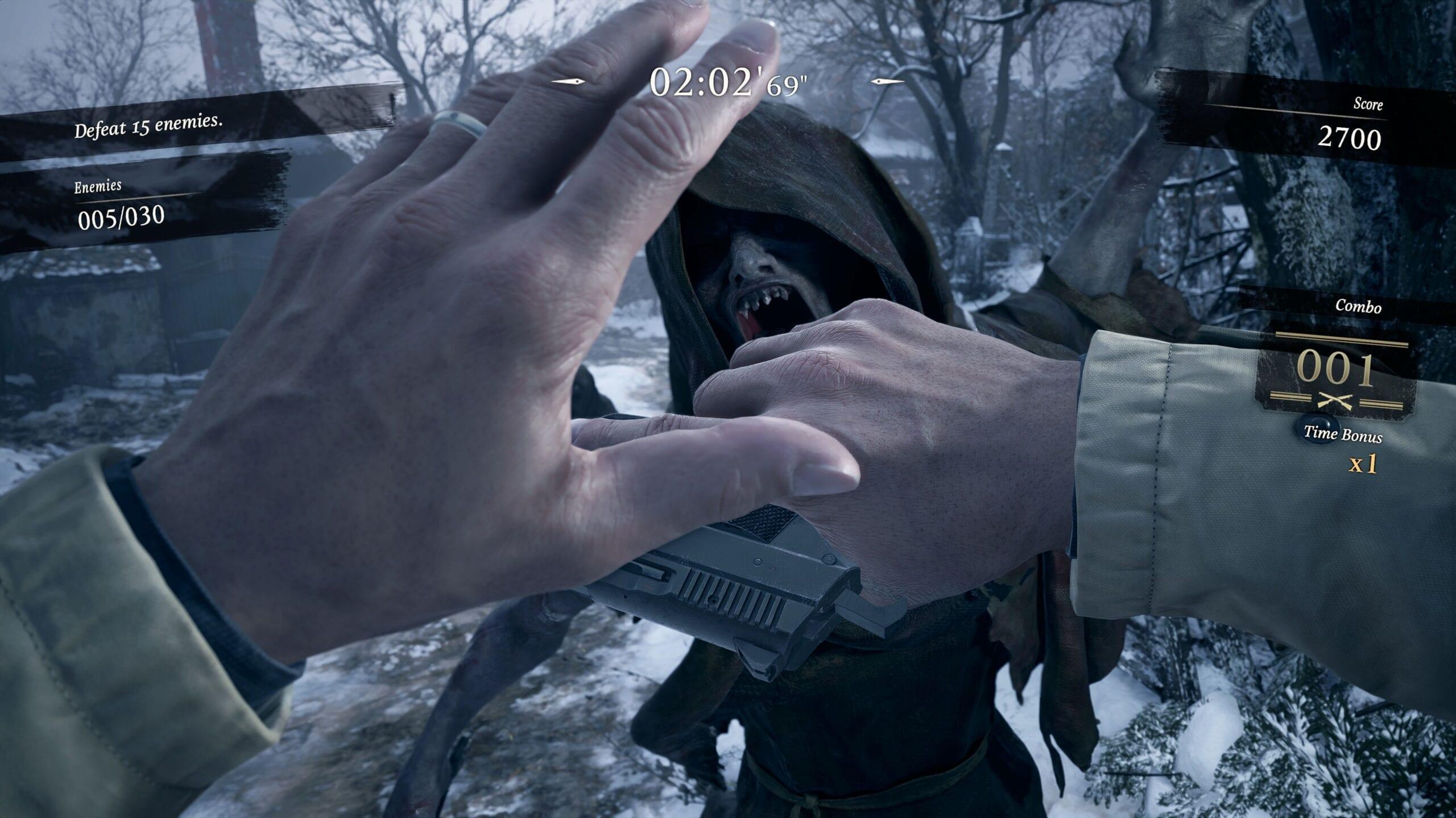 The Mercenaries Mode Will Return In Resident Evil Village
