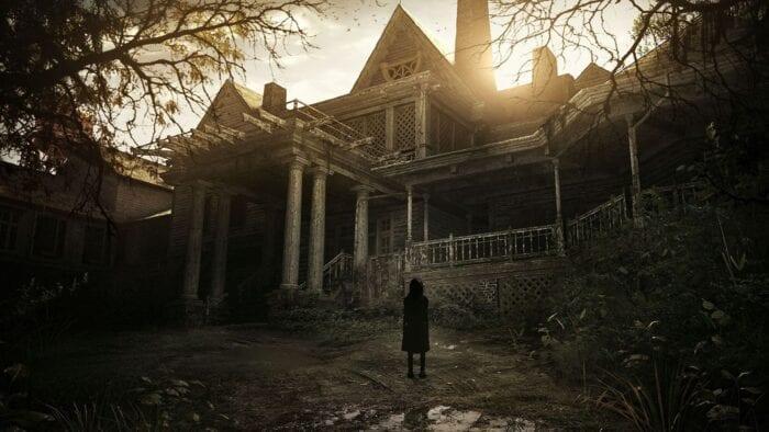 resident evil baker mansion