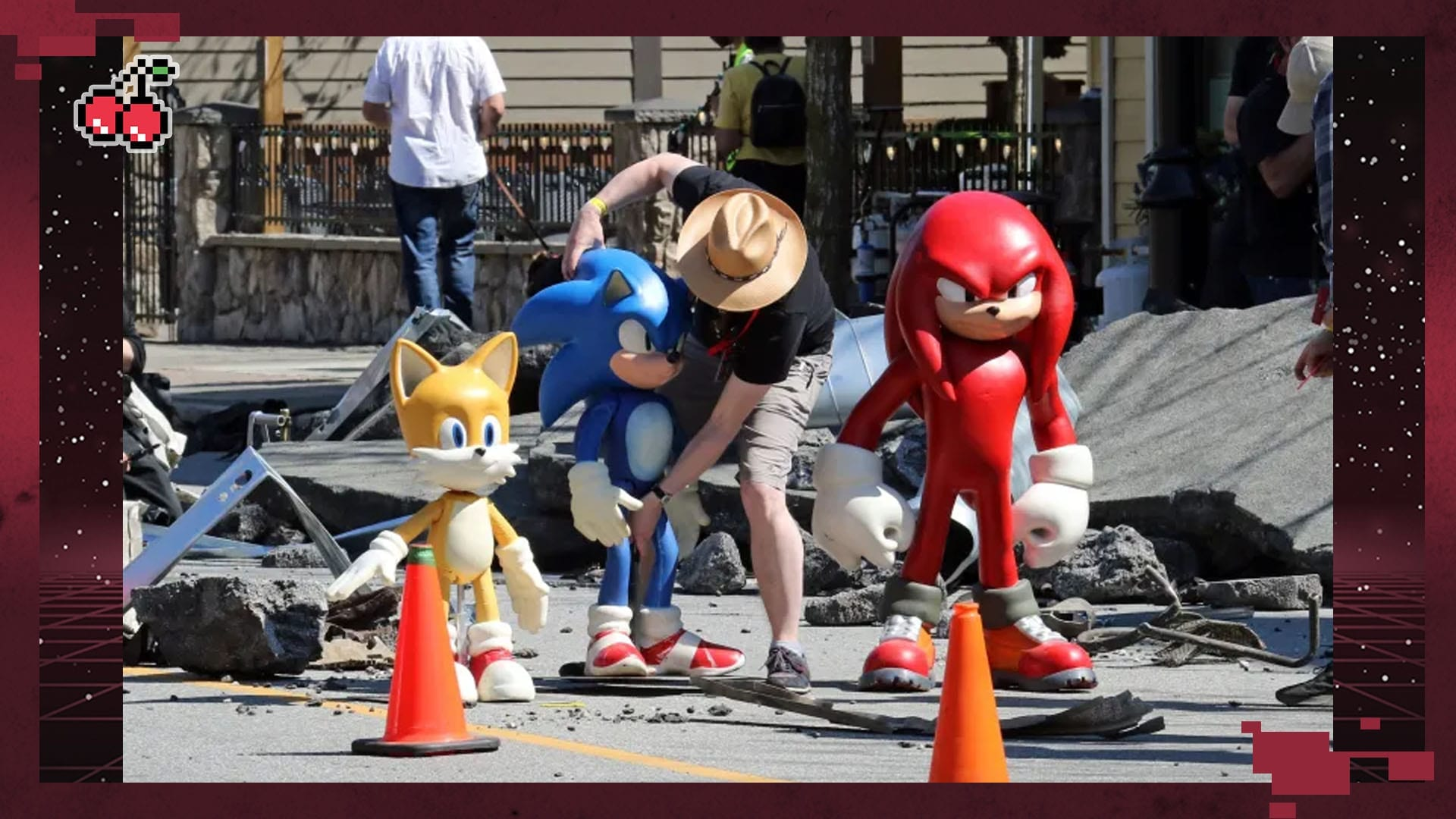 The Echidna Spotted During Sonic The Hedgehog 2 Filming