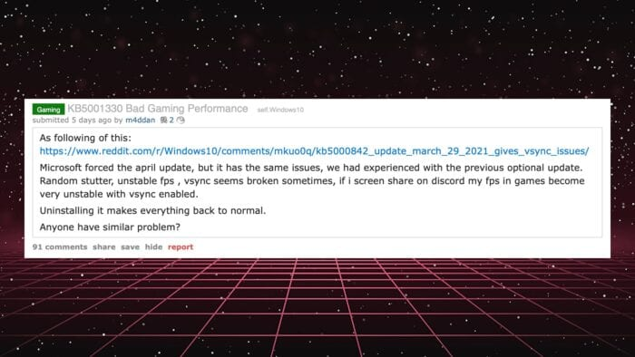 Windows 10 Reddit 1