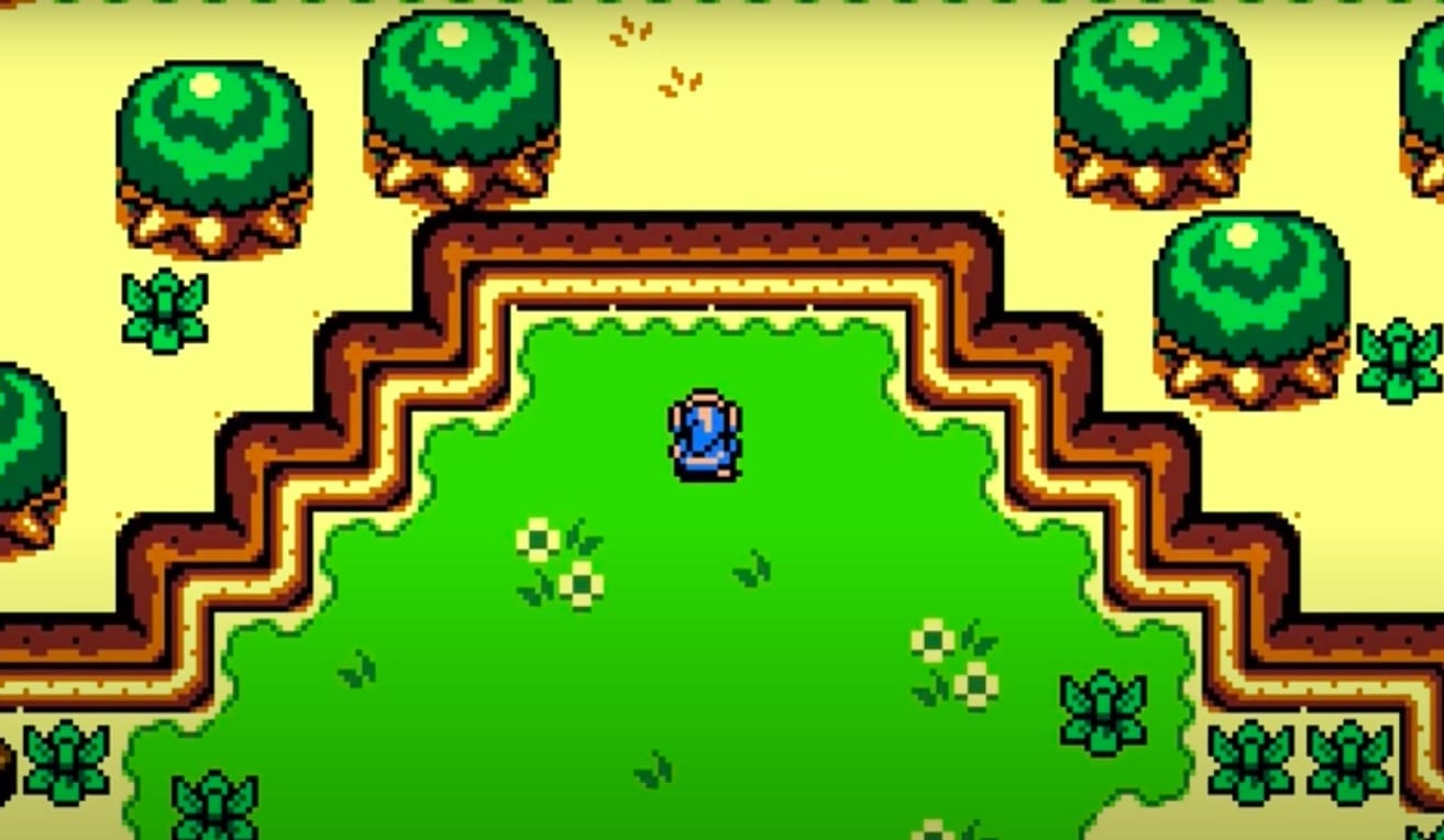 Breath Of The Wild Looks Even More Glorious In Fan-Made Game Boy Color Demake