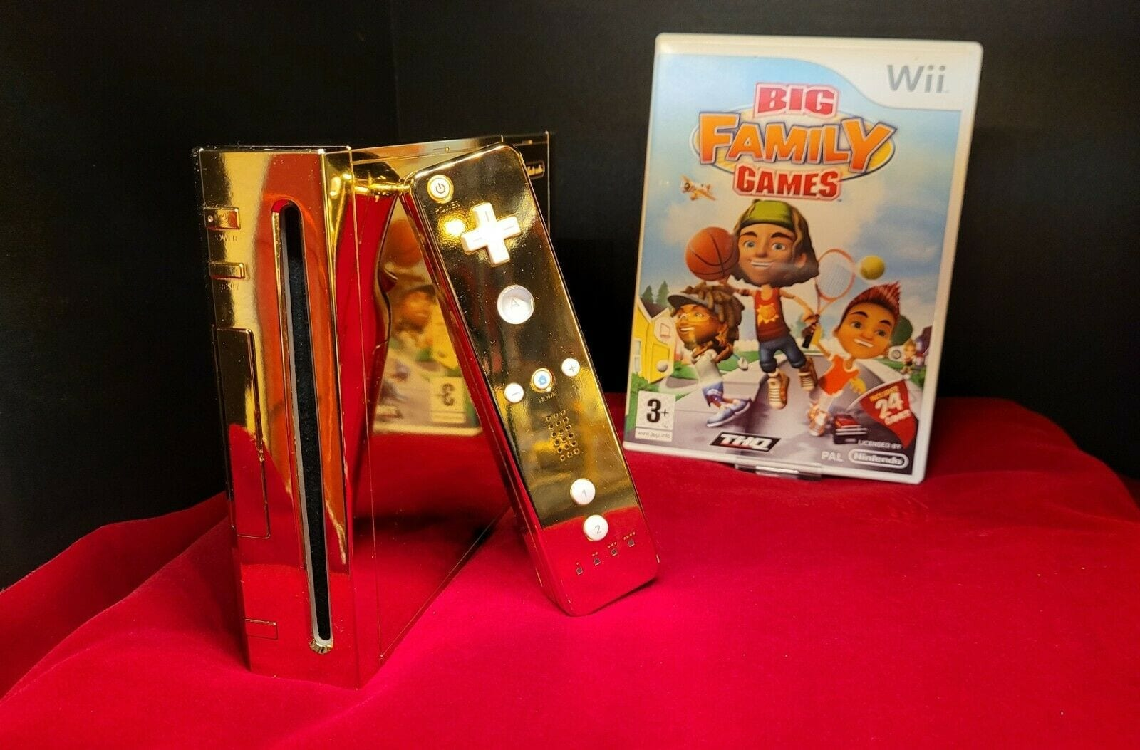 You Can Now Buy Queen Elizabeth II's 24 Karat Gold Wii