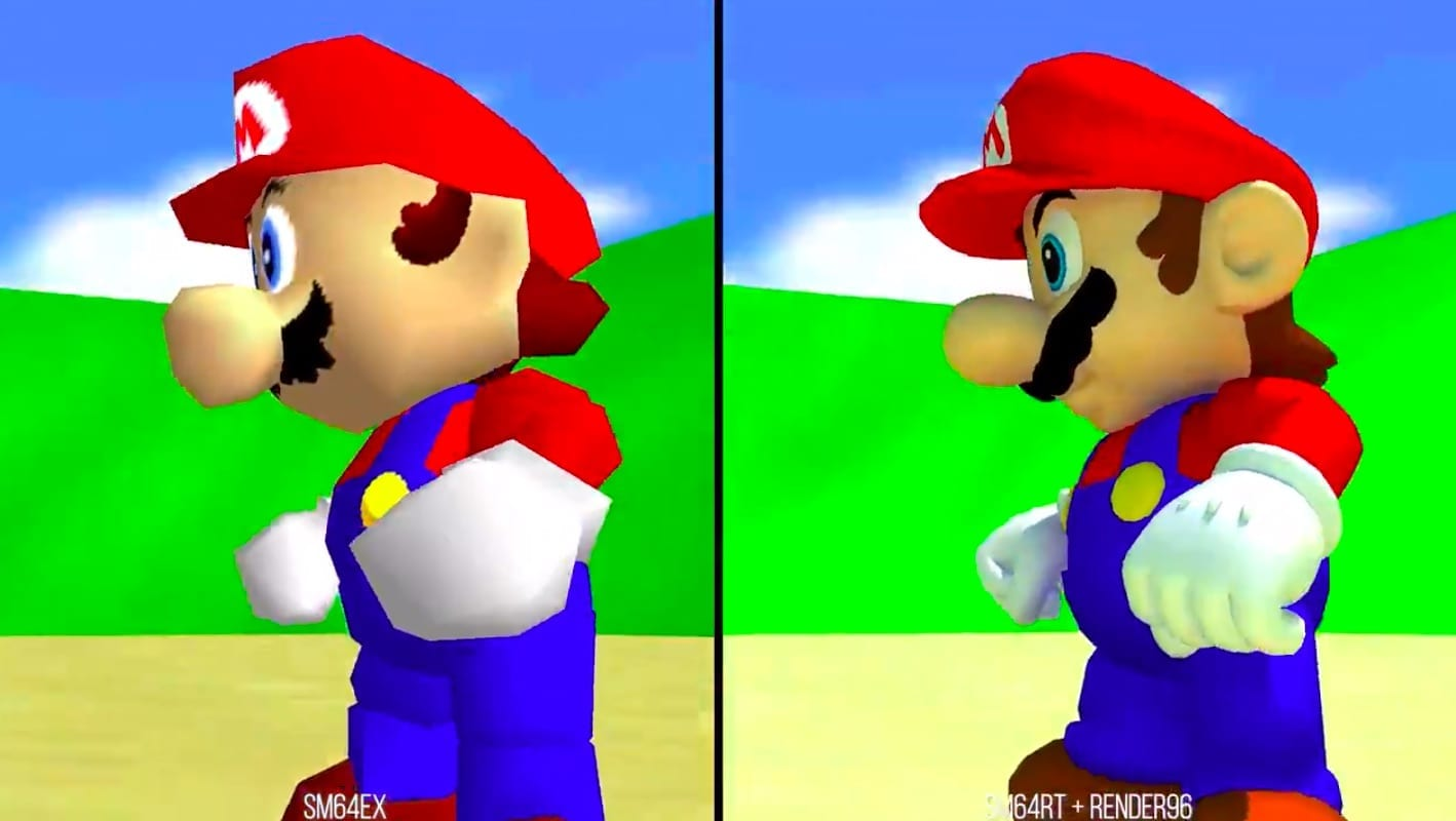 Mario 64's PC Port Almost Looks Like A Super Switch Game