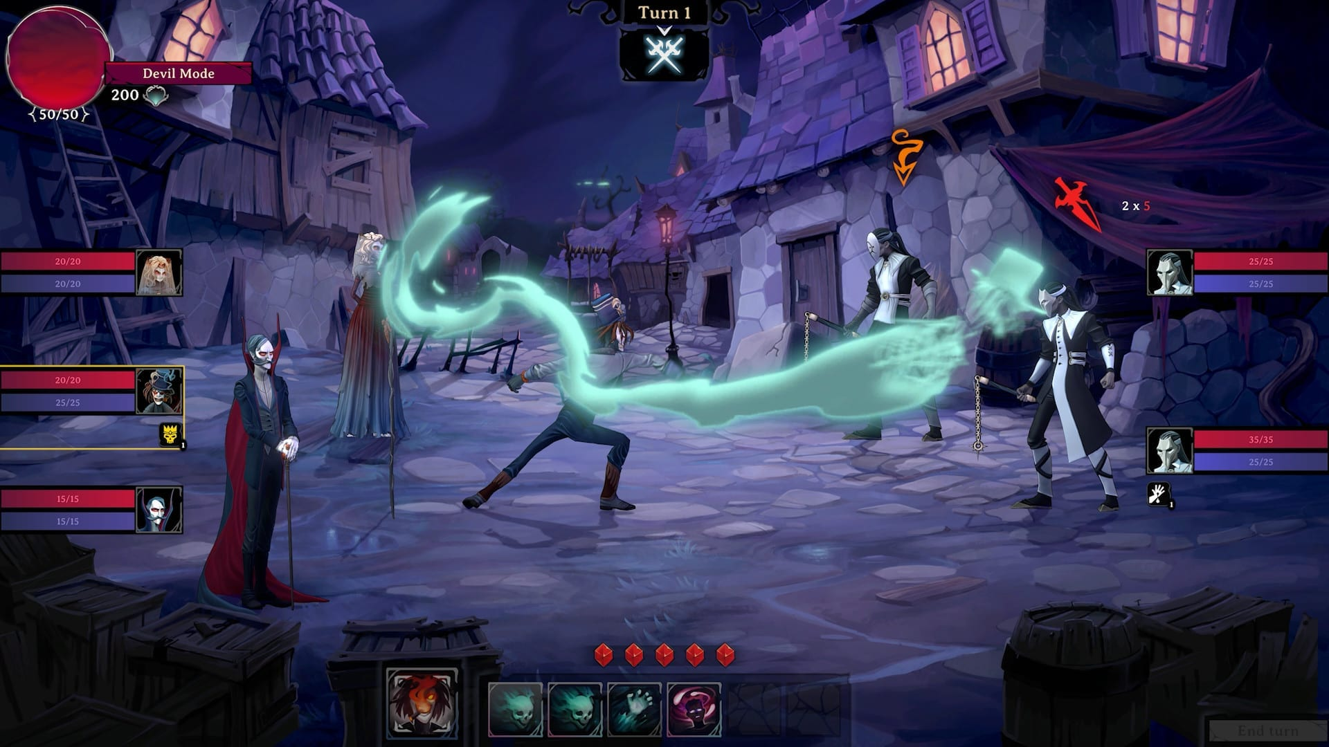 Play As The Devil & Cheat Your Way To Victory In 'Rogue Lords'