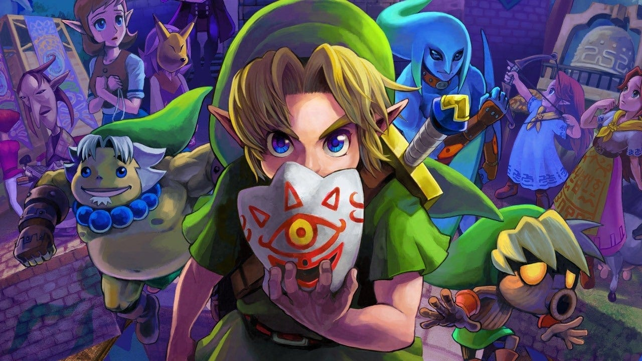 Zelda Ocarina Of Time & Majora's Mask Could Soon Be Coming To Switch