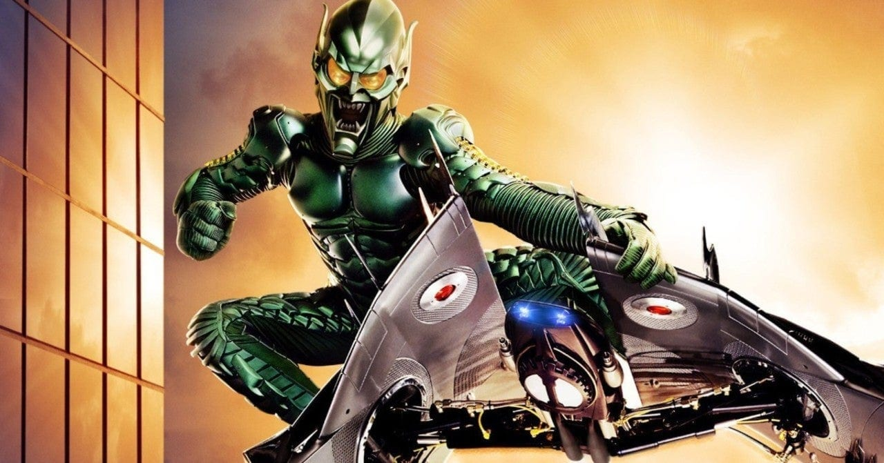 Rumour Claims Dafoe's Green Goblin Will Star In Spider-Man: No Way Home